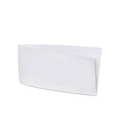 Vrecko papierové na párok v rožku 9x19 cm Biele / bal. 500 ks