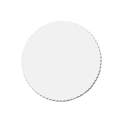 Prírezy okrúhle ozdobné pr. 28 cm / bal. 100 ks