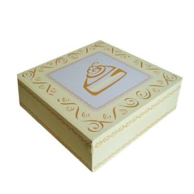 Krabica tortová VLNITÁ LEPENKA 280x280x100 cm Potlač / bal. 100 ks