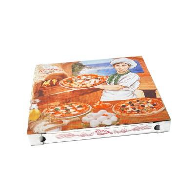 Krabica pizzová 325x325x30 mm Potlač / bal. 100 ks