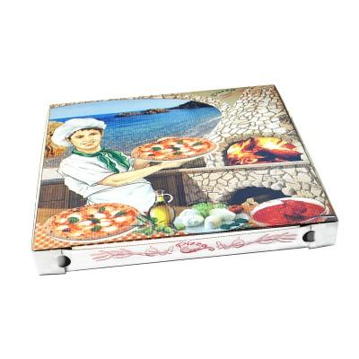 Krabica pizzová 400x400x40 mm Potlač / bal. 100 ks