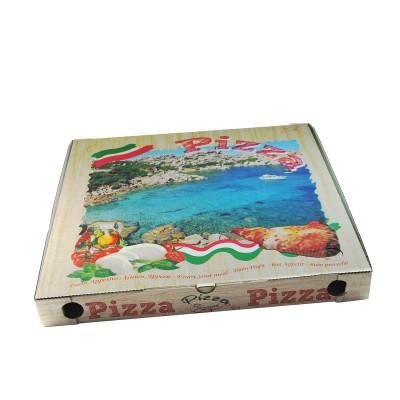 Krabica pizzová 460x460x50 mm Potlač / bal. 100 ks