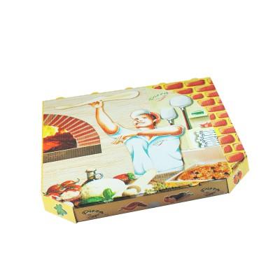 Krabica pizzová VL 320x320x30 mm Potlač (šikmé hrany) / bal. 100 ks