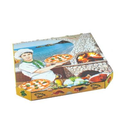 Krabica pizzová 330x330x30 mm Potlač / bal. 100 ks