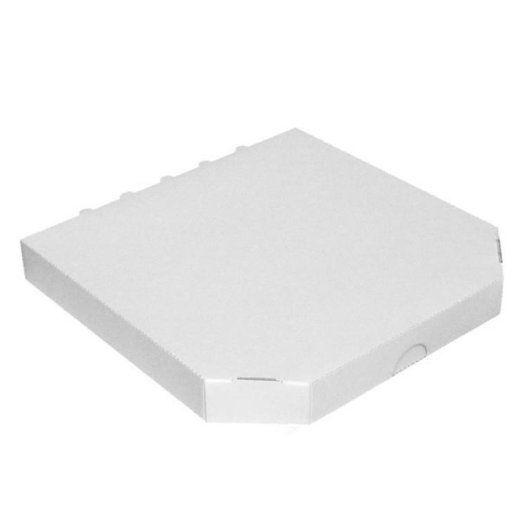 Krabica pizzová  320x320x30 mm Biela / bal. 100 ks