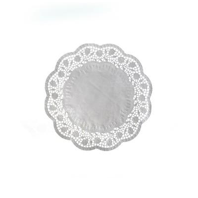 Krajka tortová okrúhla pr. 18 cm Biela / bal. 100 ks