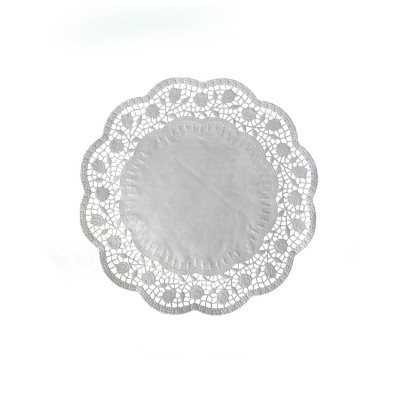 Krajka tortová okrúhla pr. 22 cm Biela / bal. 100 ks
