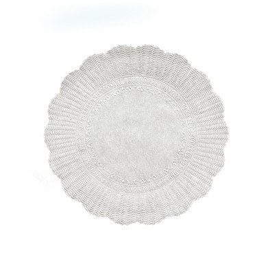 Rozetka pr. 21 cm Biela / bal. 500 ks
