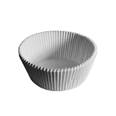 Košíček na zákusky pr. 70x25 mm Biely / bal. 1000 ks