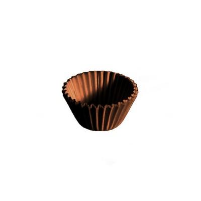 Košíček na zákusky pr. 24x18 mm Hnedý / bal. 1 000 ks