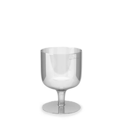 Pohár krištáľový 200 ml na stopke na víno / bal. 10 ks