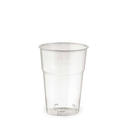 Pohár krištáľový 200 ml, pr. 73 mm / bal. 50 ks