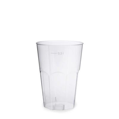 Pohár krištáľový 300 ml na koktejl / bal. 30 ks
