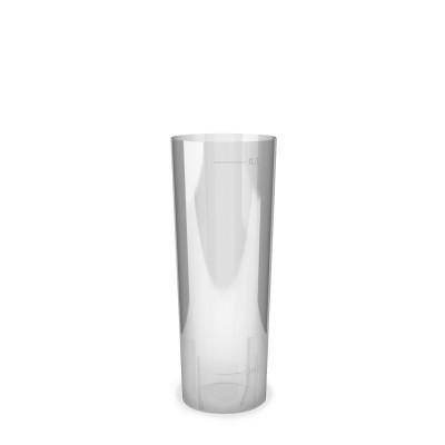 Pohár krištáľový Longdrink 300 ml s ryskou 4 cl a 0,3 l / bal. 10 ks