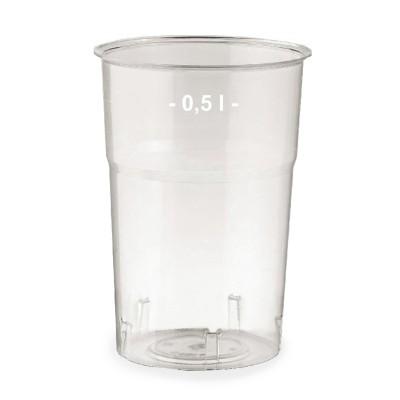 Pohár krištáľový 500 ml, pr. 95 mm / bal. 25 ks