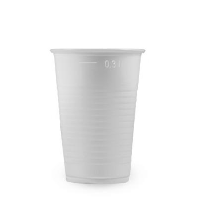 Pohár PP 300 ml, pr. 80 mm Biely / bal. 100 ks