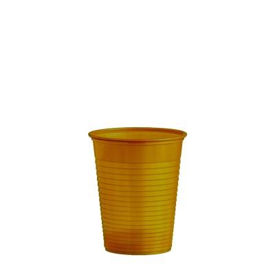 Pohár plastový 180 ml, pr. 70 mm Zlatý / bal. 50 ks