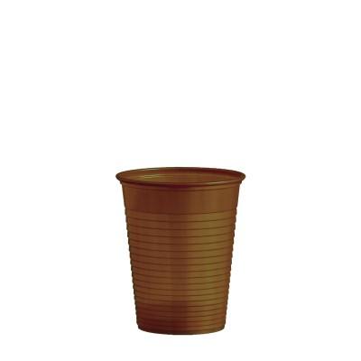 Pohár plastový 180 ml, pr. 70 mm Hnedý / bal. 50 ks