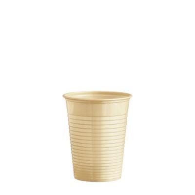 Pohár plastový 180 ml, pr. 70 mm Béžový / bal. 50 ks