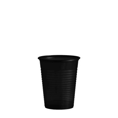 Pohár plastový 180 ml, pr. 70 mm Čierny / bal. 50 ks