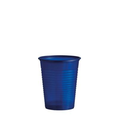 Pohár plastový 180 ml, pr. 70 mm Modrý / bal. 50 ks