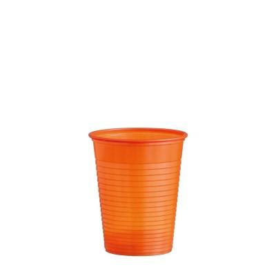 Pohár plastový 180 ml, pr. 70 mm Oranžový / bal. 50 ks