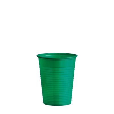 Pohár plastový 180 ml, pr. 70 mm Zelený / bal. 50 ks