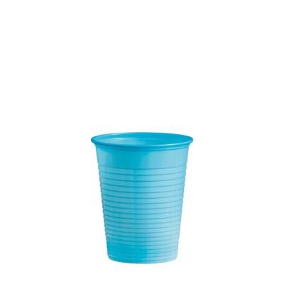 Pohár plastový 180 ml, pr. 70 mm Svetlomodrý / bal. 50 ks