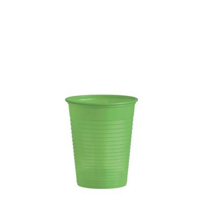 Pohár plastový 180 ml, pr. 70 mm Žlto-zelený / bal. 50 ks
