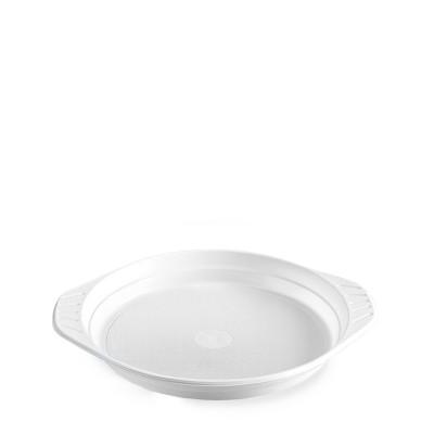 Tanier PP pr. 22 cm do mikrovlnnej rúry Biely / bal. 100 ks
