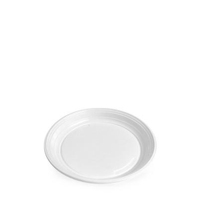 Tanier PP pr. 20,5 cm Biely / bal. 100 ks