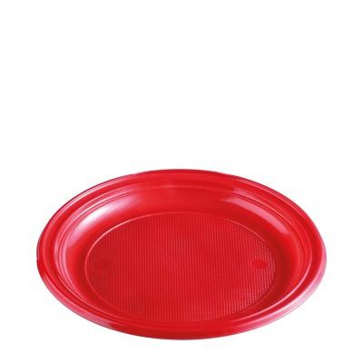 Tanier pr. 22 cm Červený / bal. 30 ks