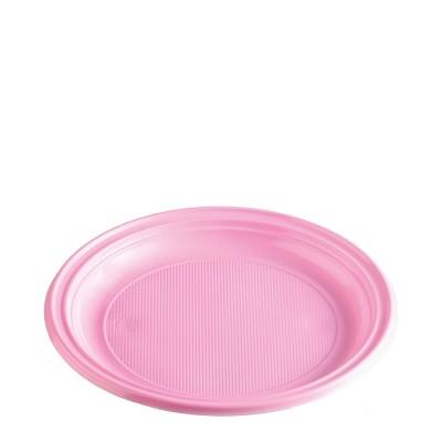 Tanier pr. 22 cm Ružový / bal. 30 ks