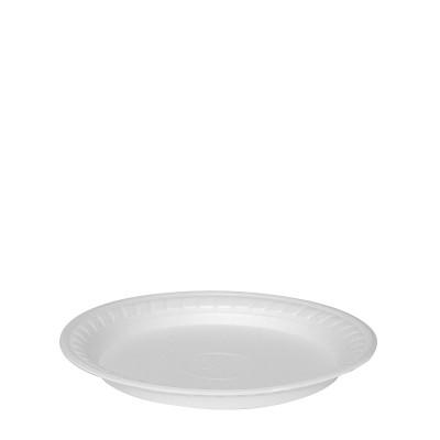 Tanier PPS plytký pr. 22,5 cm Biely / bal. 100 ks