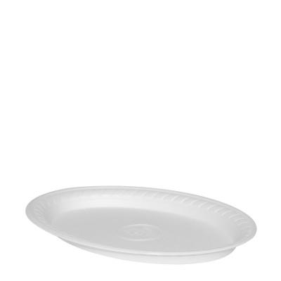 Tanier PPS oválny 29,5x21 cm Biely / bal. 100 ks