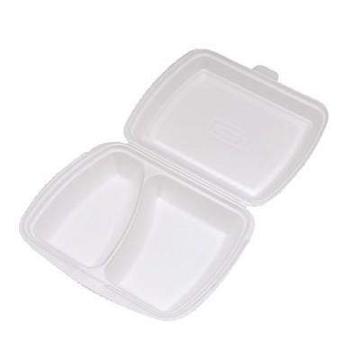 Menu box PPS 2-dielny 241x207x69 mm / bal. 125 ks