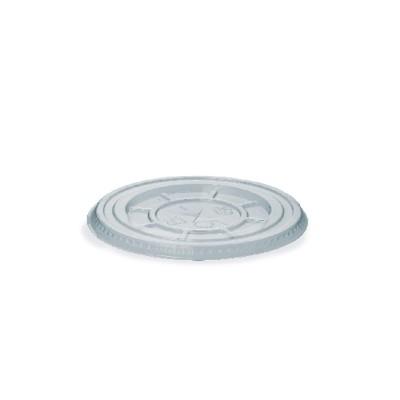Viečko plastové rovné s krížovým otvorom na pohár PET pr. 95 mm / bal. 50 ks