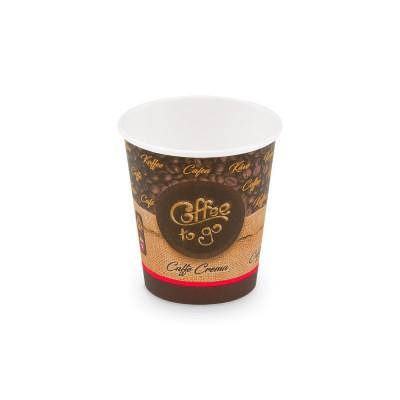 Pohár papierový COFFEE TO GO veľkosť S 200 ml, pr. 73 mm / bal. 50 ks