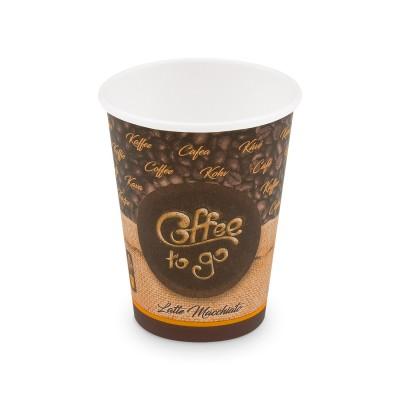 Pohár papierový COFFEE TO GO veľkosť L 420 ml, pr. 90 mm / bal. 50 ks
