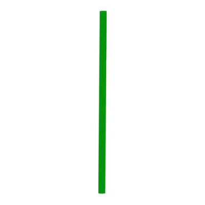 Slamky BIO CPLA 25 cm, pr. 6,5 mm Zelené / bal. 500 ks
