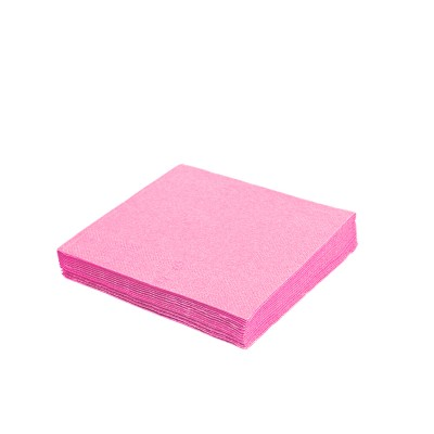 Obrúsky 33x33 cm 3-vrstvové Ružové / bal. 20 ks