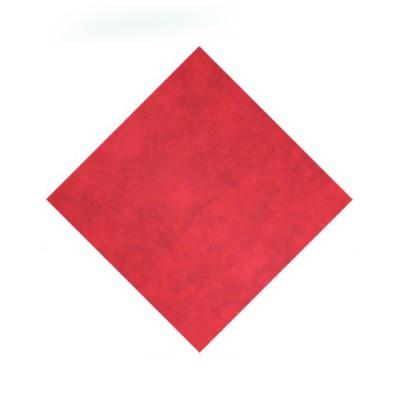 Naperóny papierové 80x80 cm Červené / bal. 20 ks