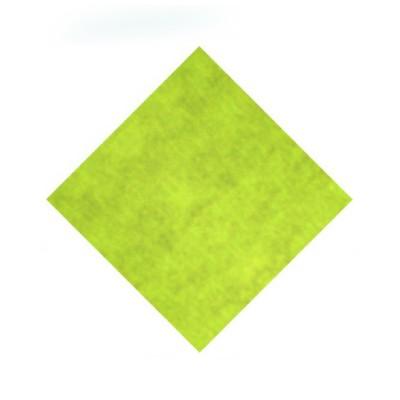 Naperóny papierové 80x80 cm Žlto-zelené / bal. 20 ks