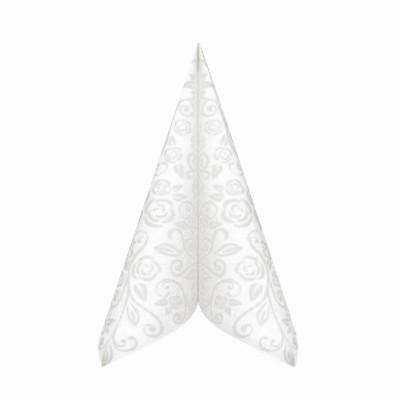 Obrúsky 40x40 cm PREMIUM dekorR Biele / bal. 50 ks