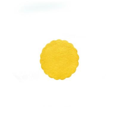 Rozetka pod šálku Premium pr. 9 cm Žltá / bal. 500 ks