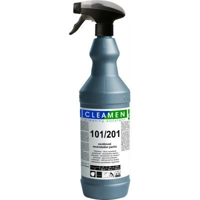 CLEAMEN 101/201 Neutralizátor pachov s vôňou na všetky povrchy 1 l