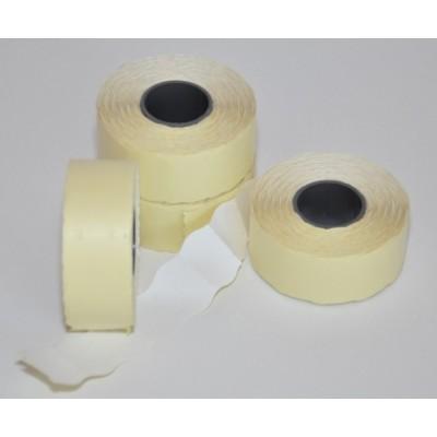 Etikety CONTACT 25x16 mm Biele