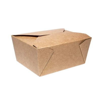 Food box BIO papierový 750 ml Kraft / bal. 50 ks