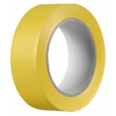 Lepiaca páska výstražná šírka 5 cm Žlto-čierna 33 m