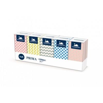 Vreckovky hygienické papierové 3-vrstvové / bal. 10x10 ks